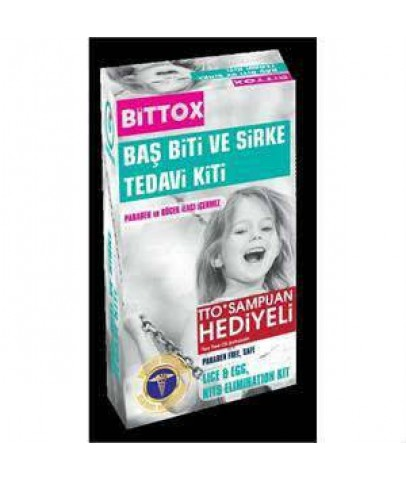 Bittox  Spreyi 100 ml & TTO Tea Tree Oil Şampuan 150 ml Hediyeli